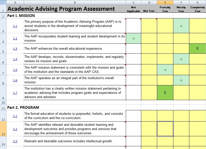 AAPA Software Good Advice – An Excel File That Contains One or More Worksheets